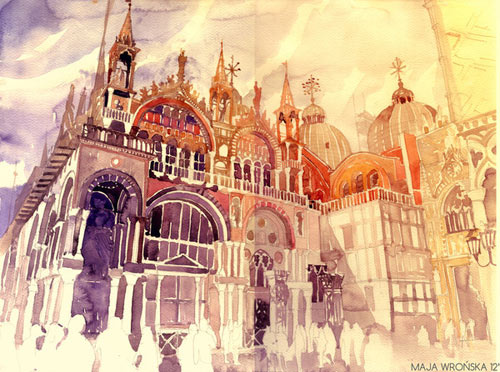 Venezia - watercolor paintings