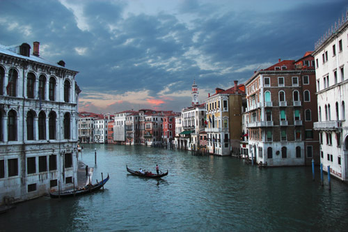 Venetian sunset in Random Pictures Inspiration
