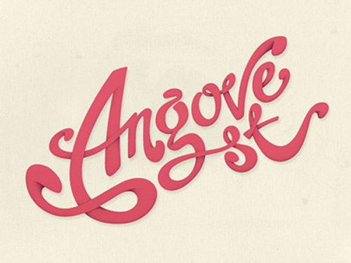 Angrove - Typography Design Inspiration