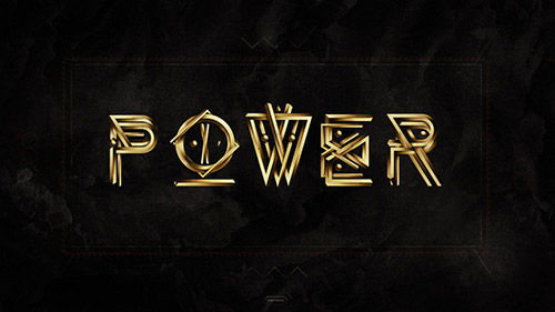 POWER 2011 Wallpaper - Typography Design Inspiration