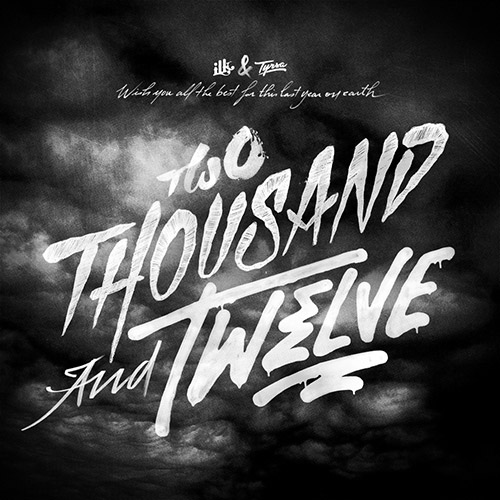 Two Thousand and Twelve - Typography Design Inspiration