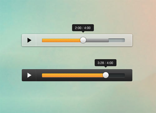 Mini Audio Player (Free PSD)