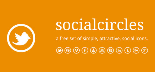 Socialcircles - Free social icons