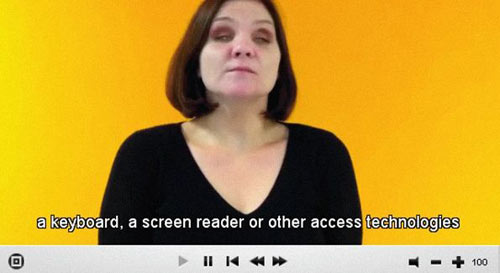 Create Accessible Videos in HTML5