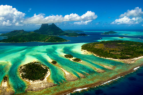 Bora Bora: From Above