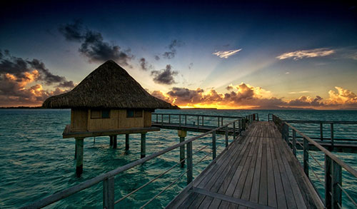 Bora Bora Sunrise