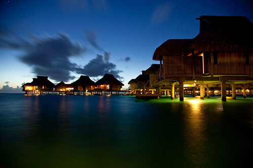 Bora Bora at Night