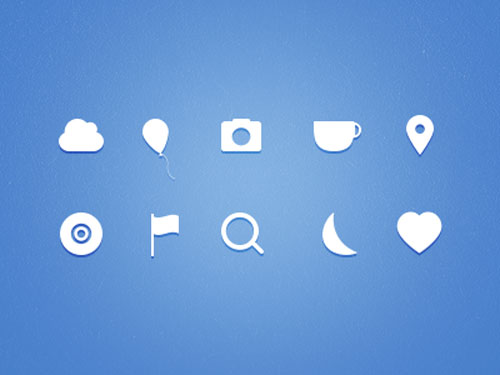 Icons (FREE PSD)