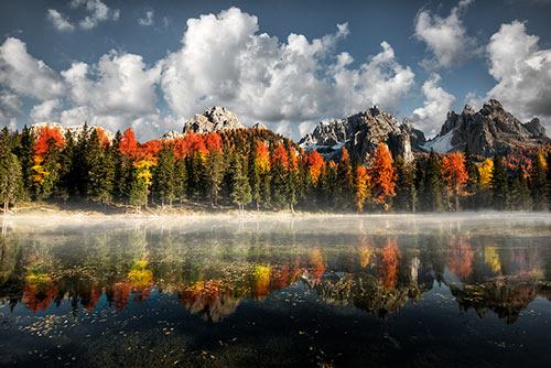 Misurina Antorno lake, Dolomiti