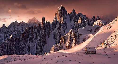 Sunrise Dolomites