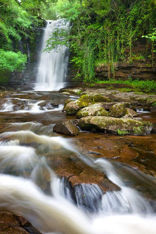 Blaen-y-glyn Falls