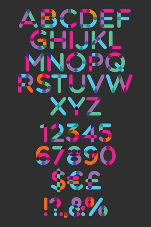 Multicolore Free Fonts