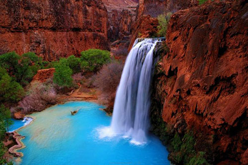 Arizona Havasu Falls Wallpaper