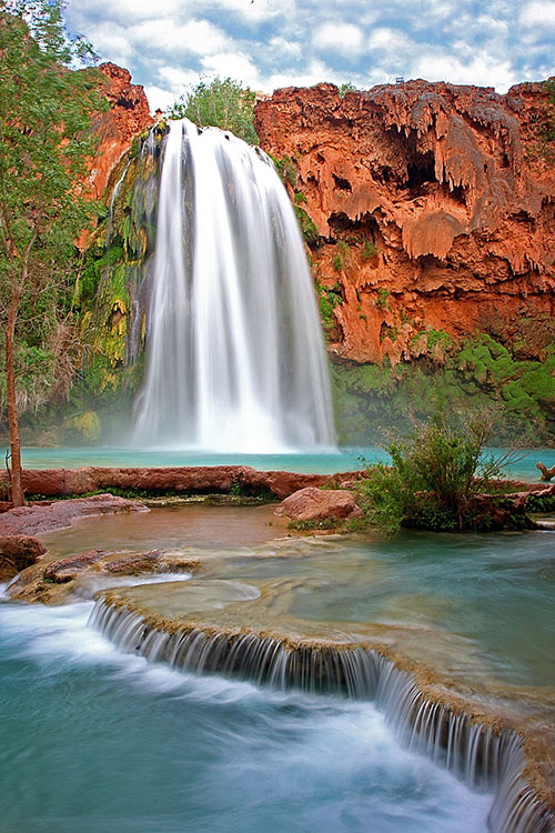 Havasu Falls, Havasupai Canyon, Arizona