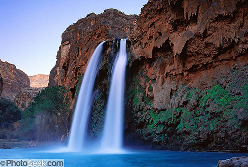 Havasupai Indian Reservation, Havasu Falls