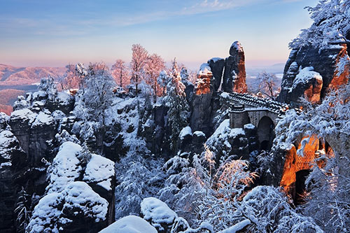 Winter Bastei