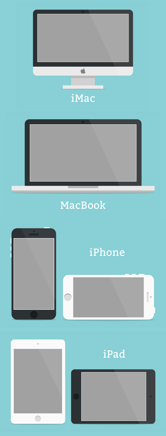 Minimal Apple Devices [ Free ]