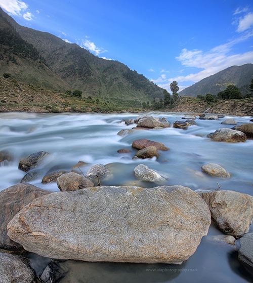 Breathtaking Kunhar River