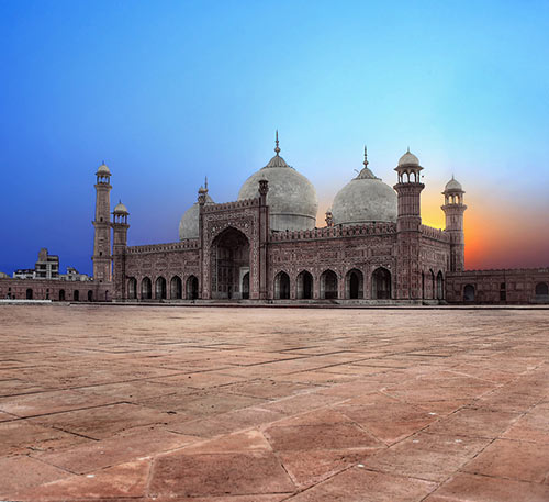 The Badshahi Masjid