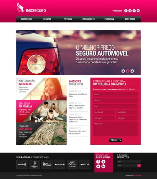 Imoseguro Website Design