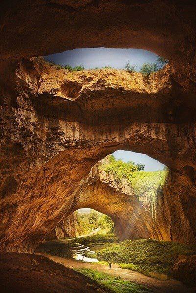 Devvetashka Cave in Bulgaria