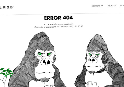 Wallmob 404 Error Page