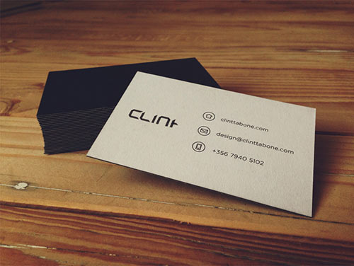 Clint Tabone Business Cards