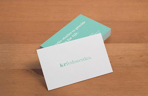 KR Fedosenko Branding