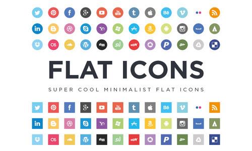 Flat Icons EPS