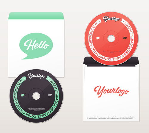 DVD & Envelope Mock-Up