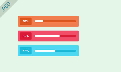 Percentage Bar PSD