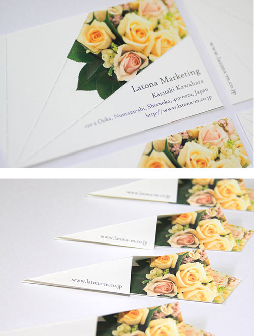 Bouquet Card