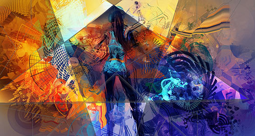 Digital Artwork by Android Jones