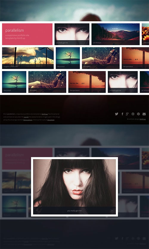 Parallelism - Responsive HTML5 Template