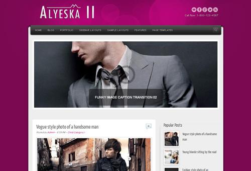 Alyeska II Blogger Template