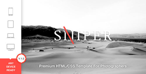 Sniper - Premium Photography Template