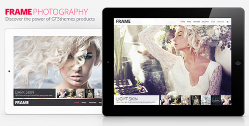 Frame Photography Responsive Website Template