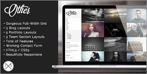 Other - Retina Ready Photography HTML5 Template