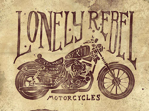 Lonely Rebel Motorcycles