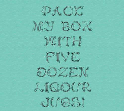 Free Wave Font