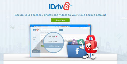 Facebook Backup To Idrive Cloud