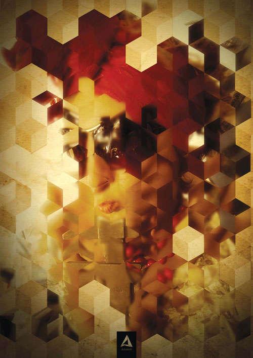 Create a Cube Mosaic Portrait