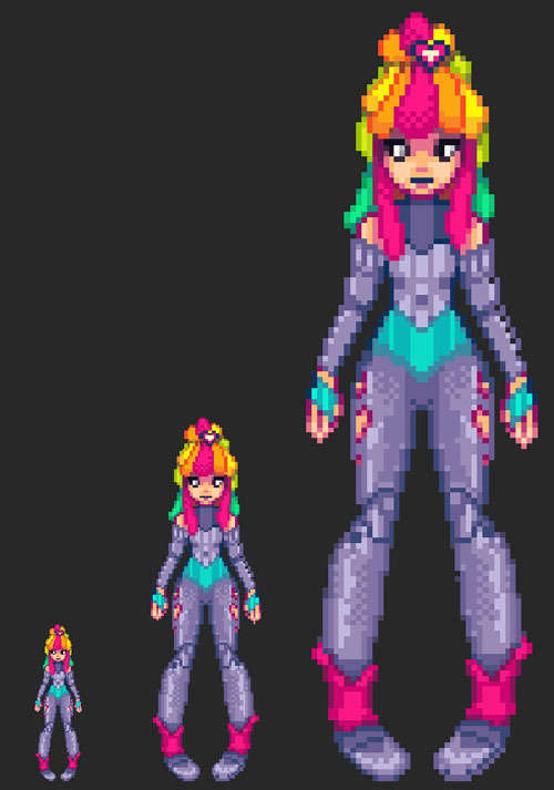 Create a Pixel Art Sprite From Scratch
