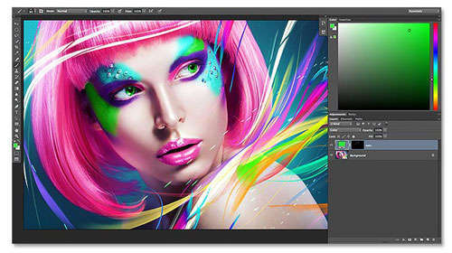The Improved And Enhanced Color Panel–Photoshop CC 2014