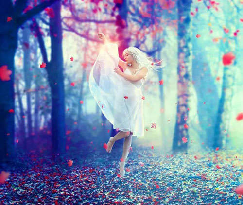 Create a Photo Manipulation of an Emotional Dancer in a Forest