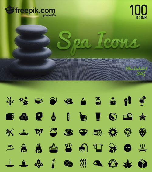 Free SPA Icons Pack