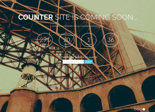 Counter Bootstrap Template