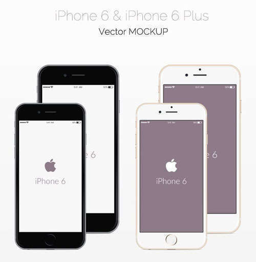 Free PSD iPhone 6 Mockups