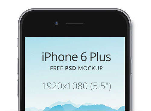 iPhone 6 Plus Mock-Up Templates