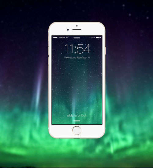 White iPhone 6 Mockup